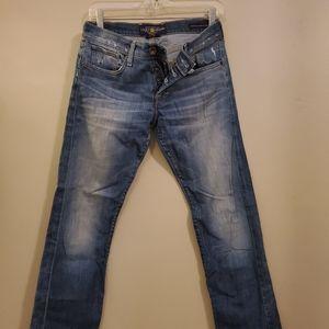 Lucky Sienna Tomboy Crop Jeans
